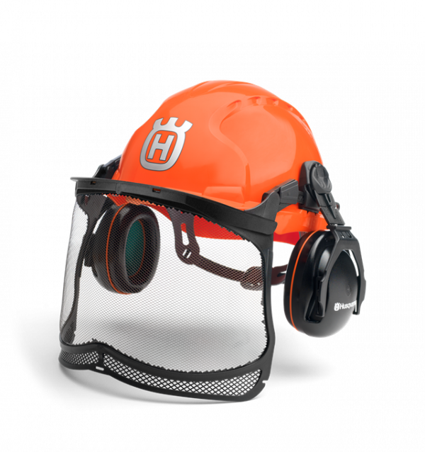 Casque de protection Husqvarna et protection auditive